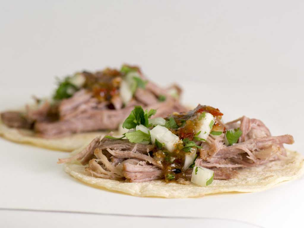 Picture of carnitas tacos