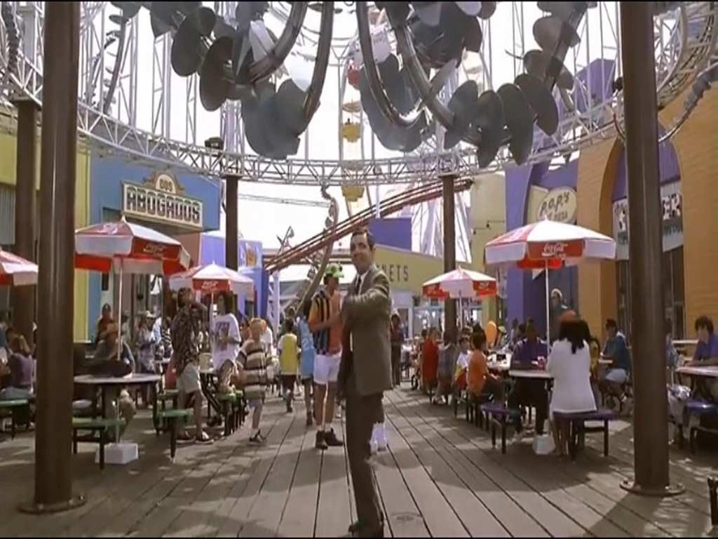 Beans movie filmed at the Santa Monica Pier