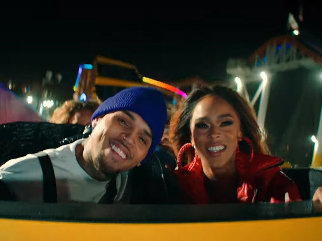 Chris Brown's Undecided music video