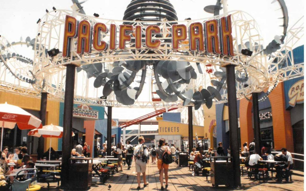 Pacific Park entrance in 2008