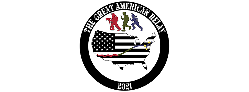The Great American Relay 2021 logo