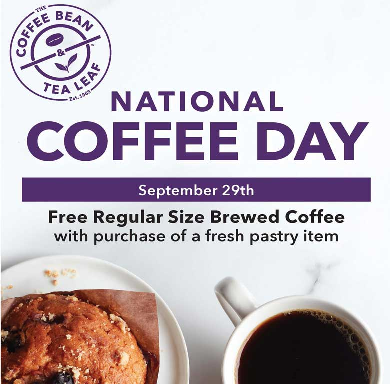 National Coffee Day poster