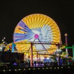 Bugs Bunny displayed on the Pacific Wheel during the HBO Max Take Over at Pacific Park   Photo curtesy of HBO