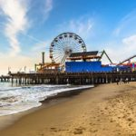 Pacific Park in Santa Monica as seen from the beach   Photo curtesy of Thrillist